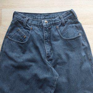 Vintage Zena Women High Rise Mom Jeans Slim Leg
